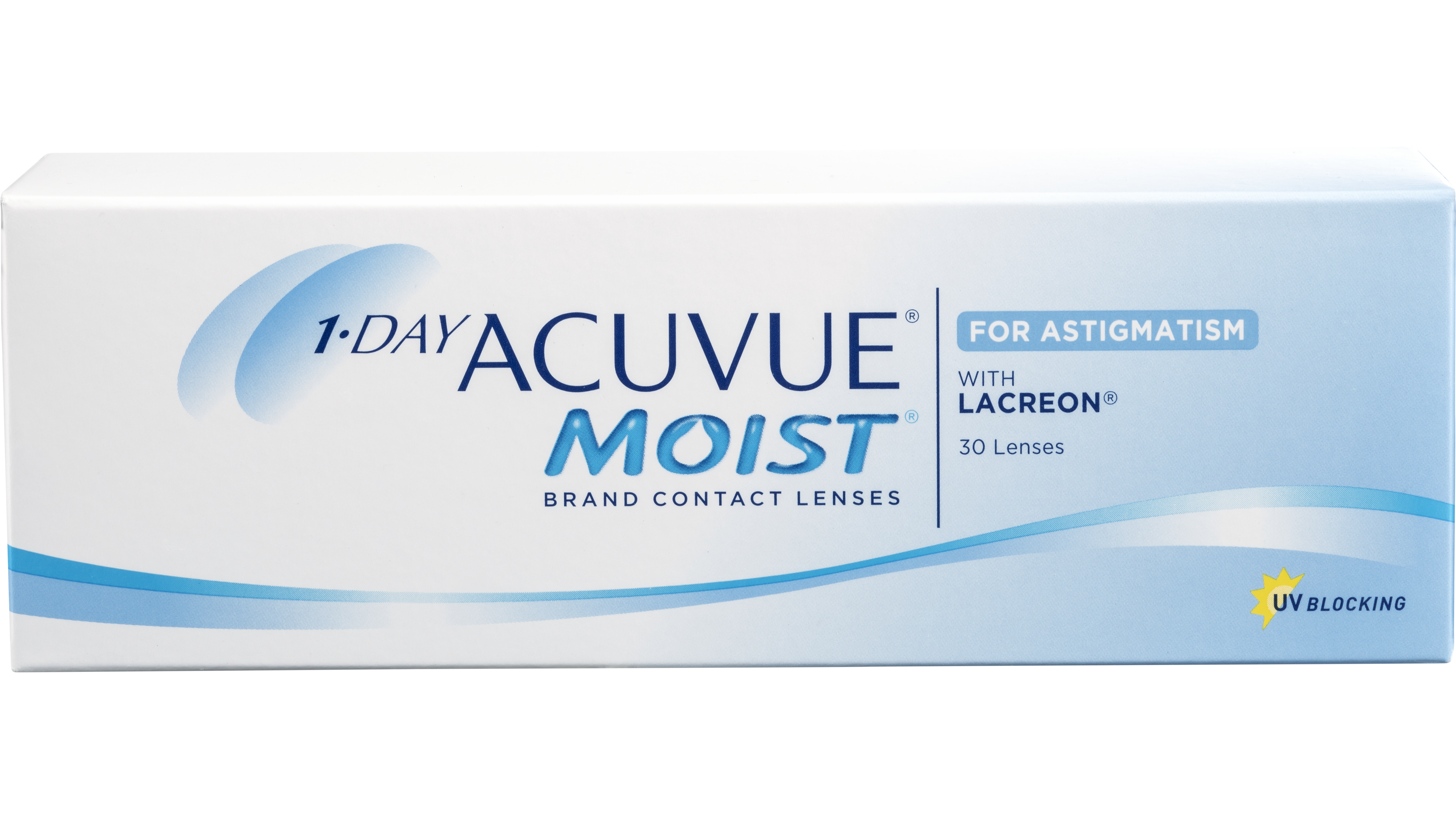 Front 1 Day Acuvue Moist for Astigmatism
