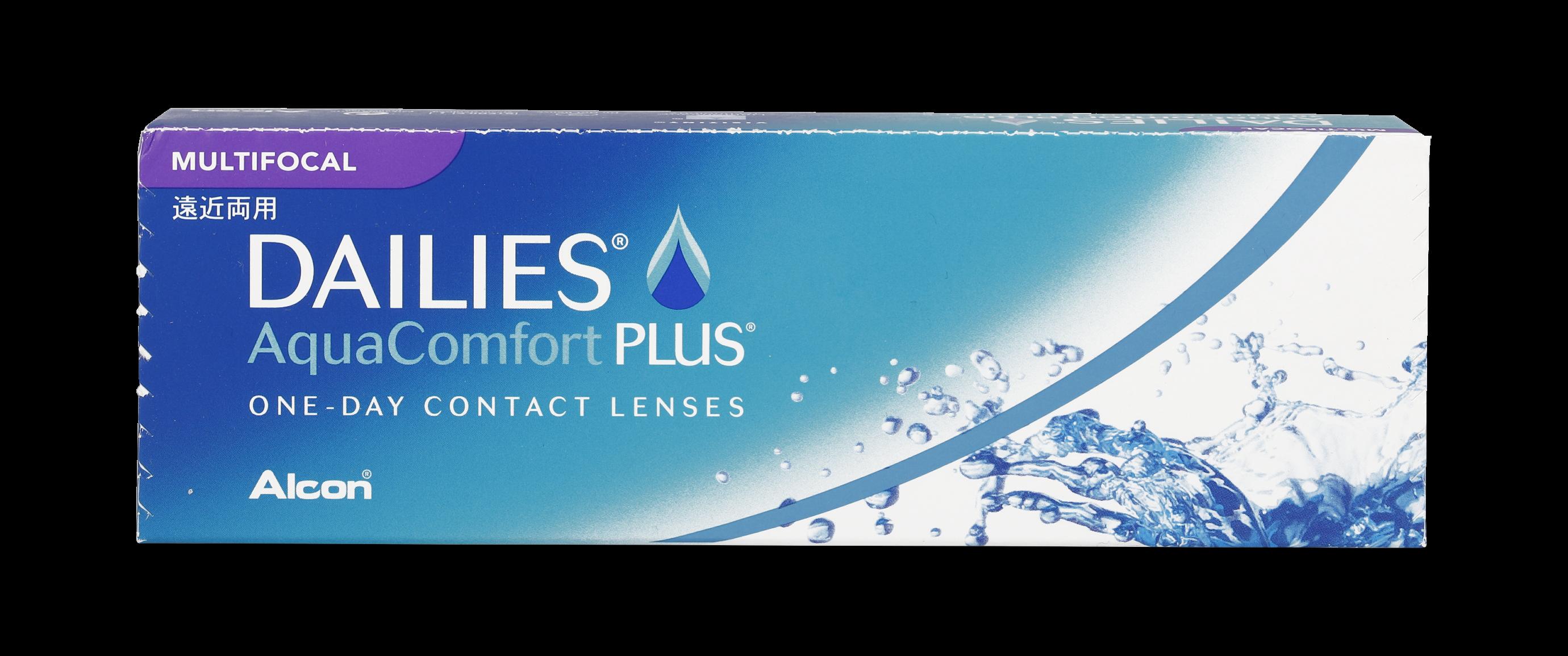 Front Dailies Aqua Comfort Plus Multifocaal