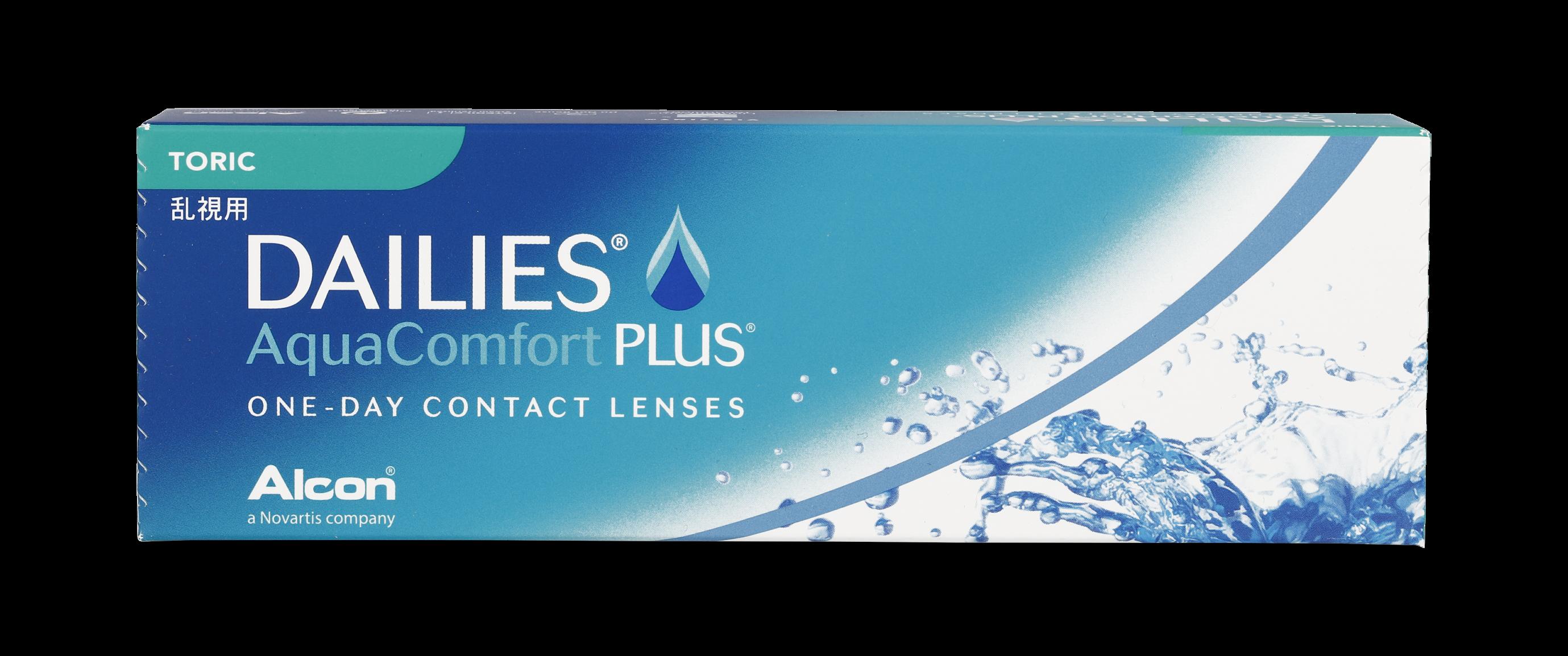 Front Dailies Aqua Comfort Plus for Astigmatism