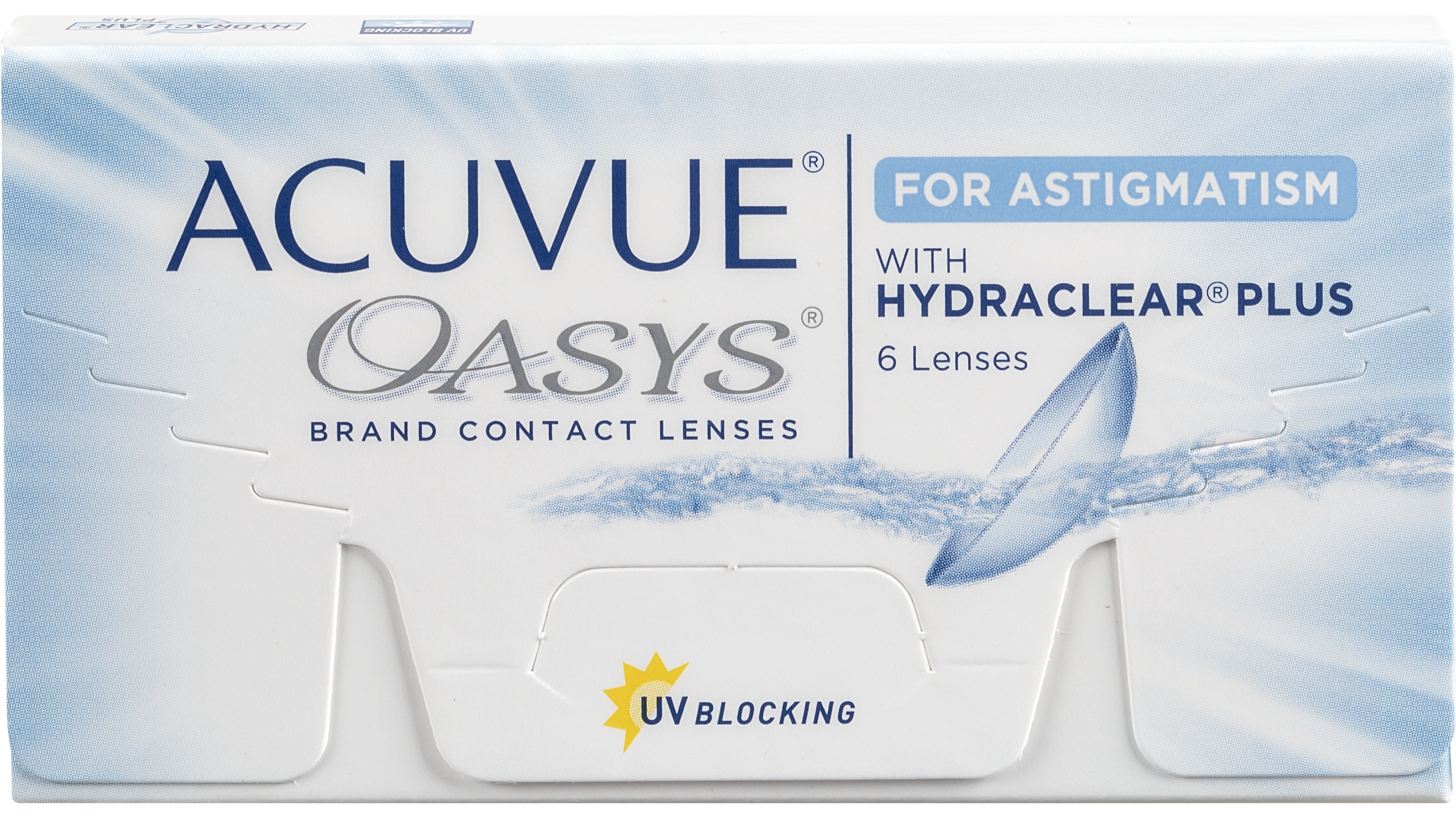 Front Acuvue Oasys for Astigmatism