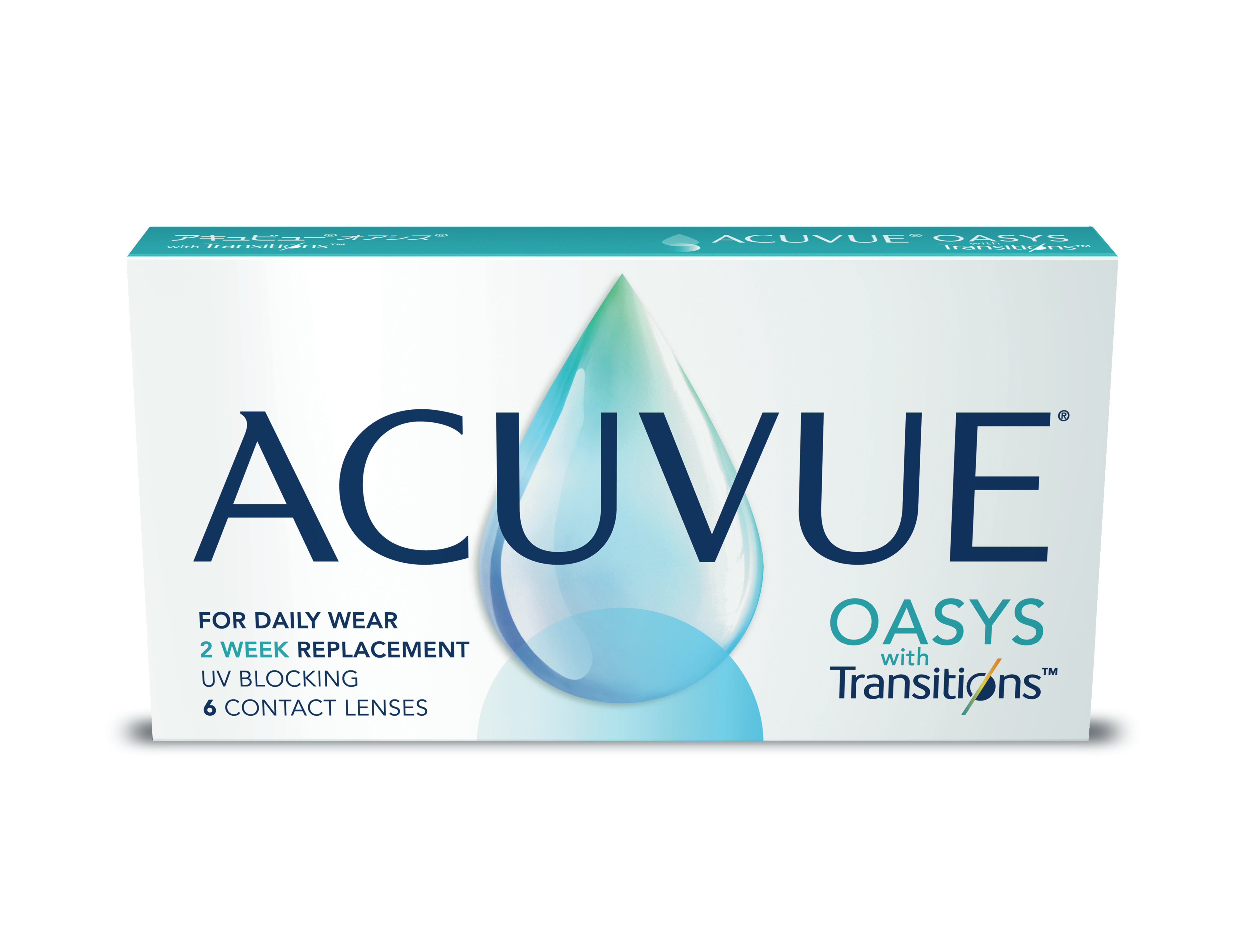Front Acuvue Oasys Transitions