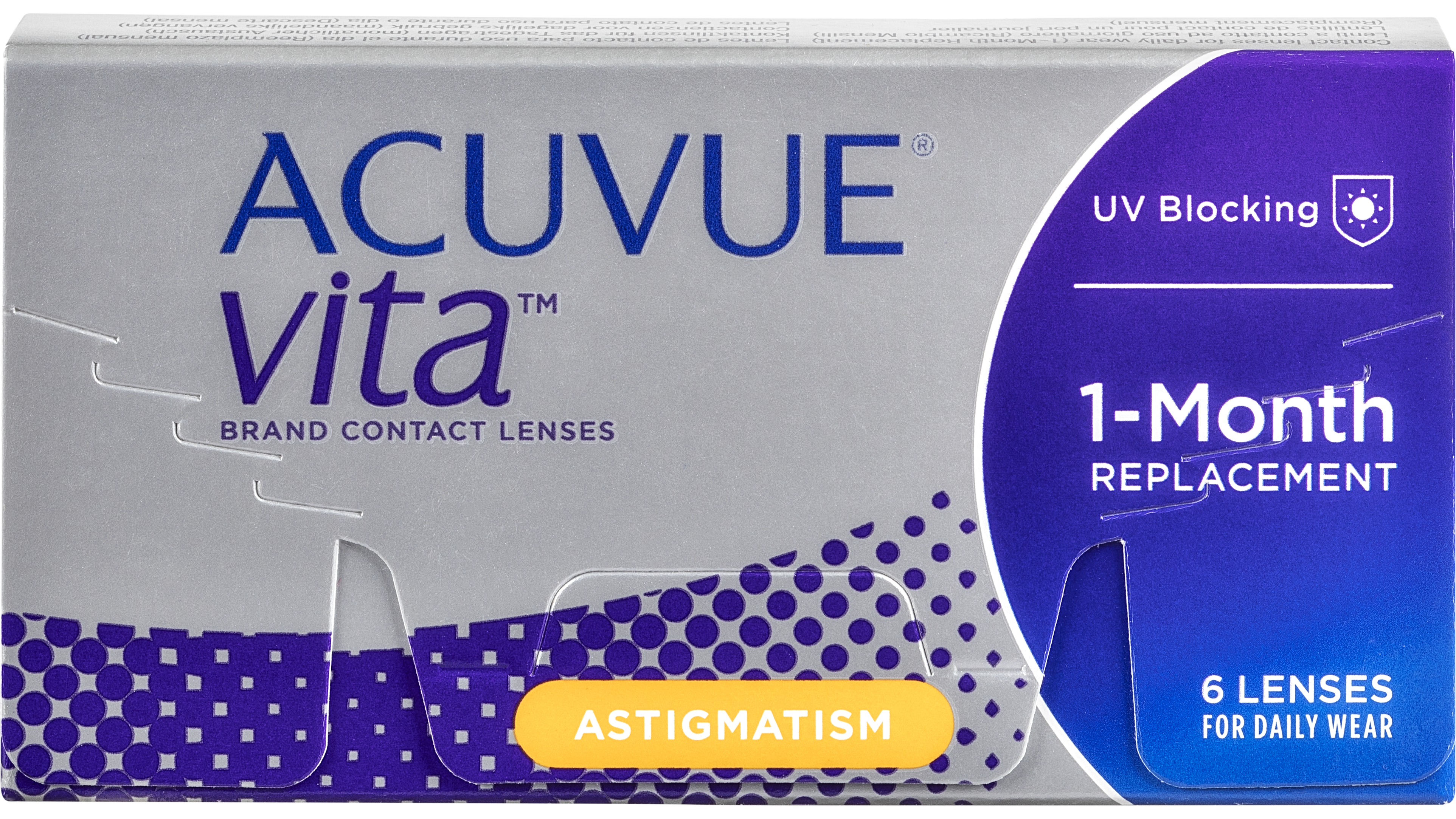 Front Acuvue Vita for Astigmatism