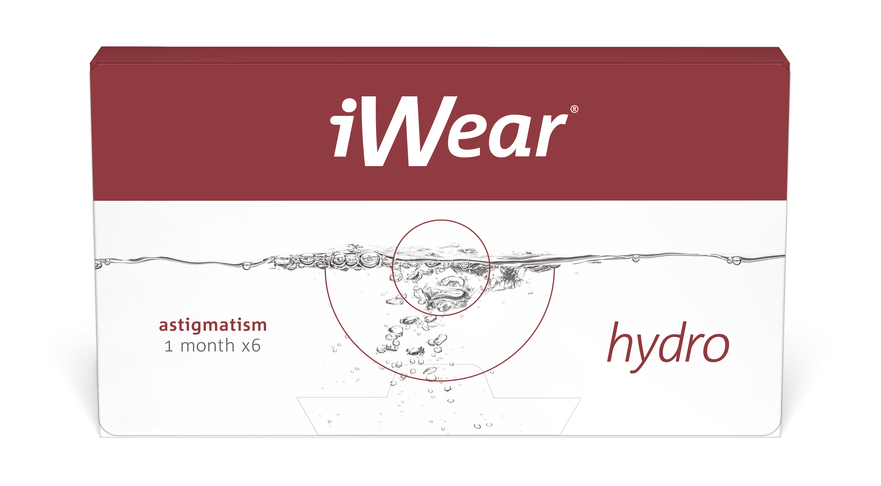 Front iWear Hydro for Astigmatism