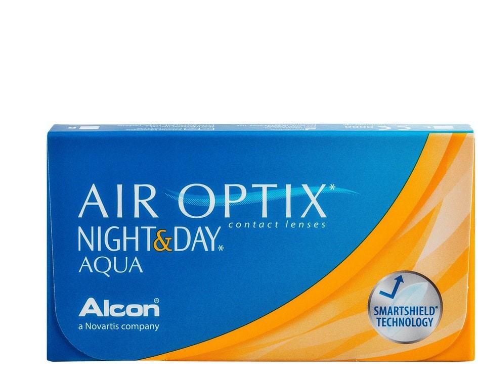 Front Air Optix Night & Day Aqua