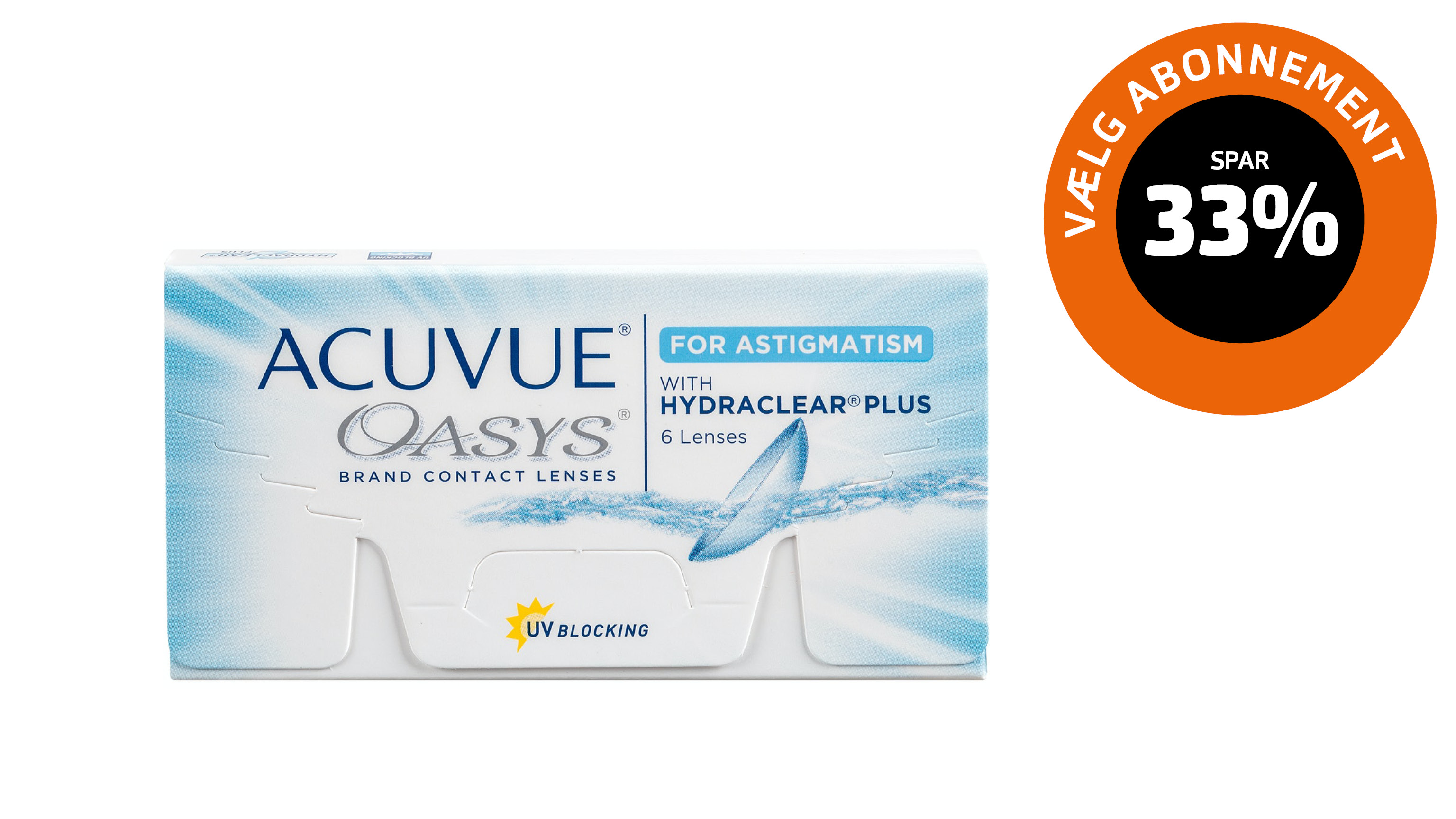 Front ACUVUE® Oasys for astigmatism