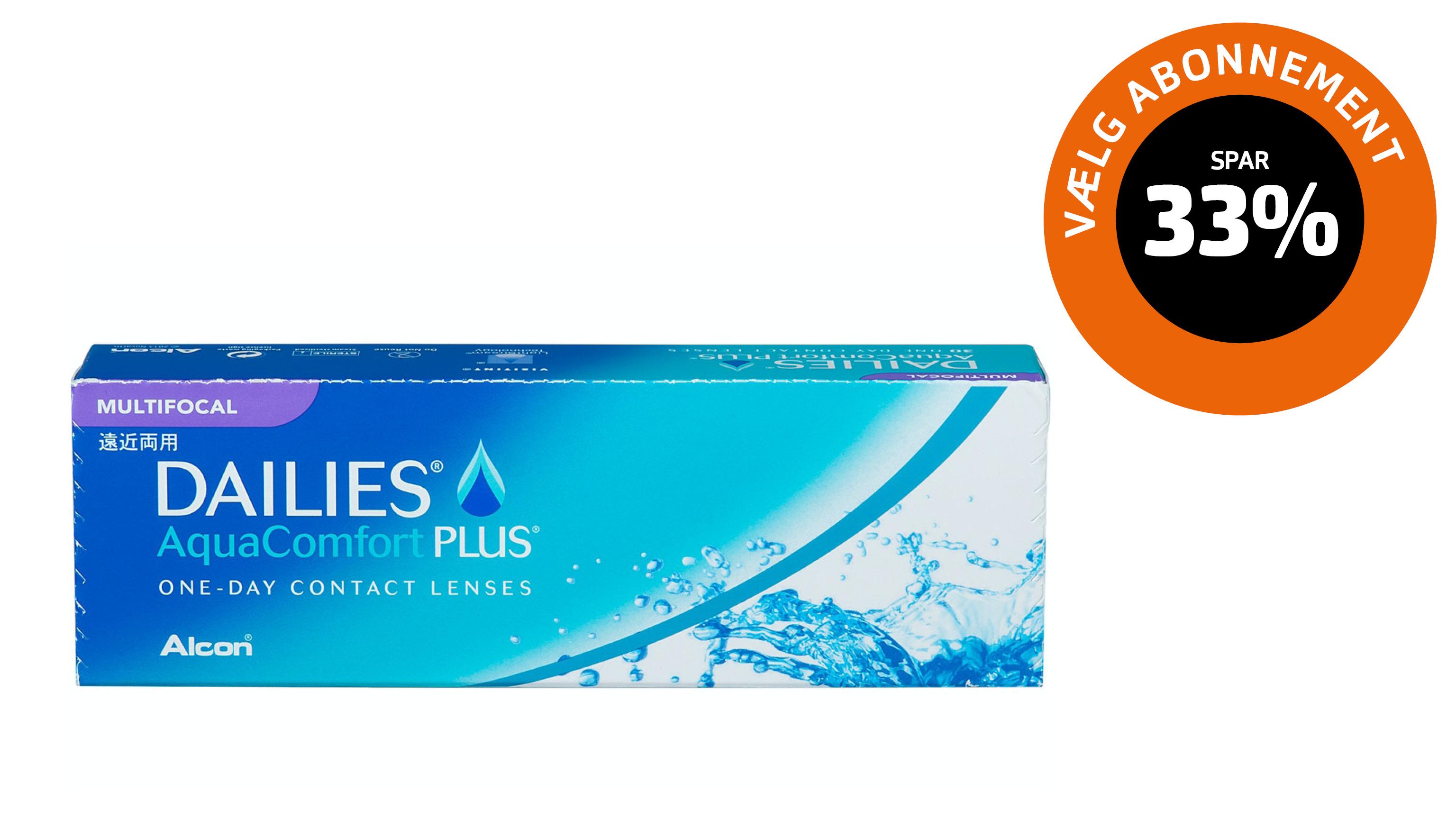 Front Dailies AquaComfort Plus Multifocal