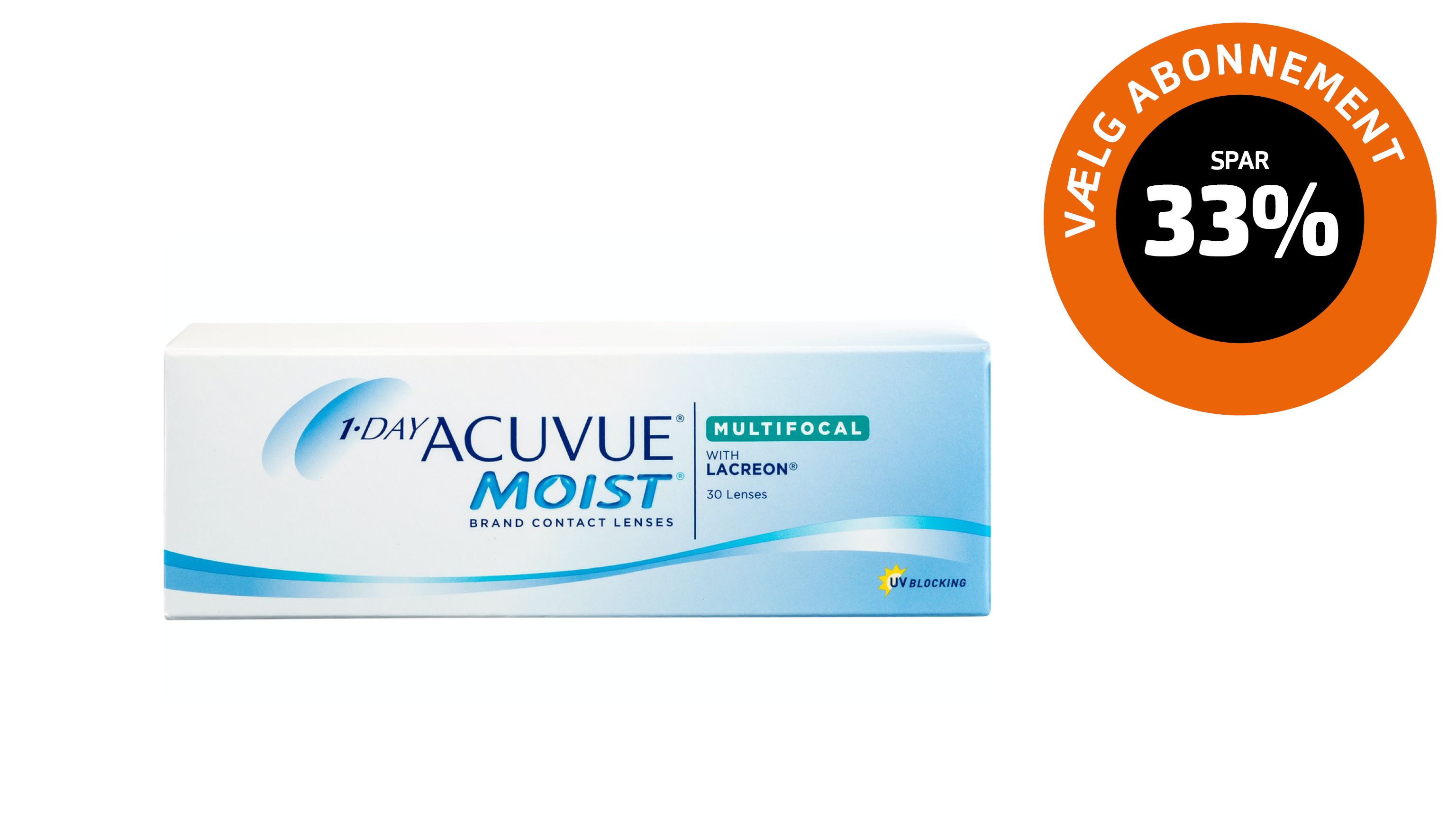 Front 1-day ACUVUE® Moist multifocal