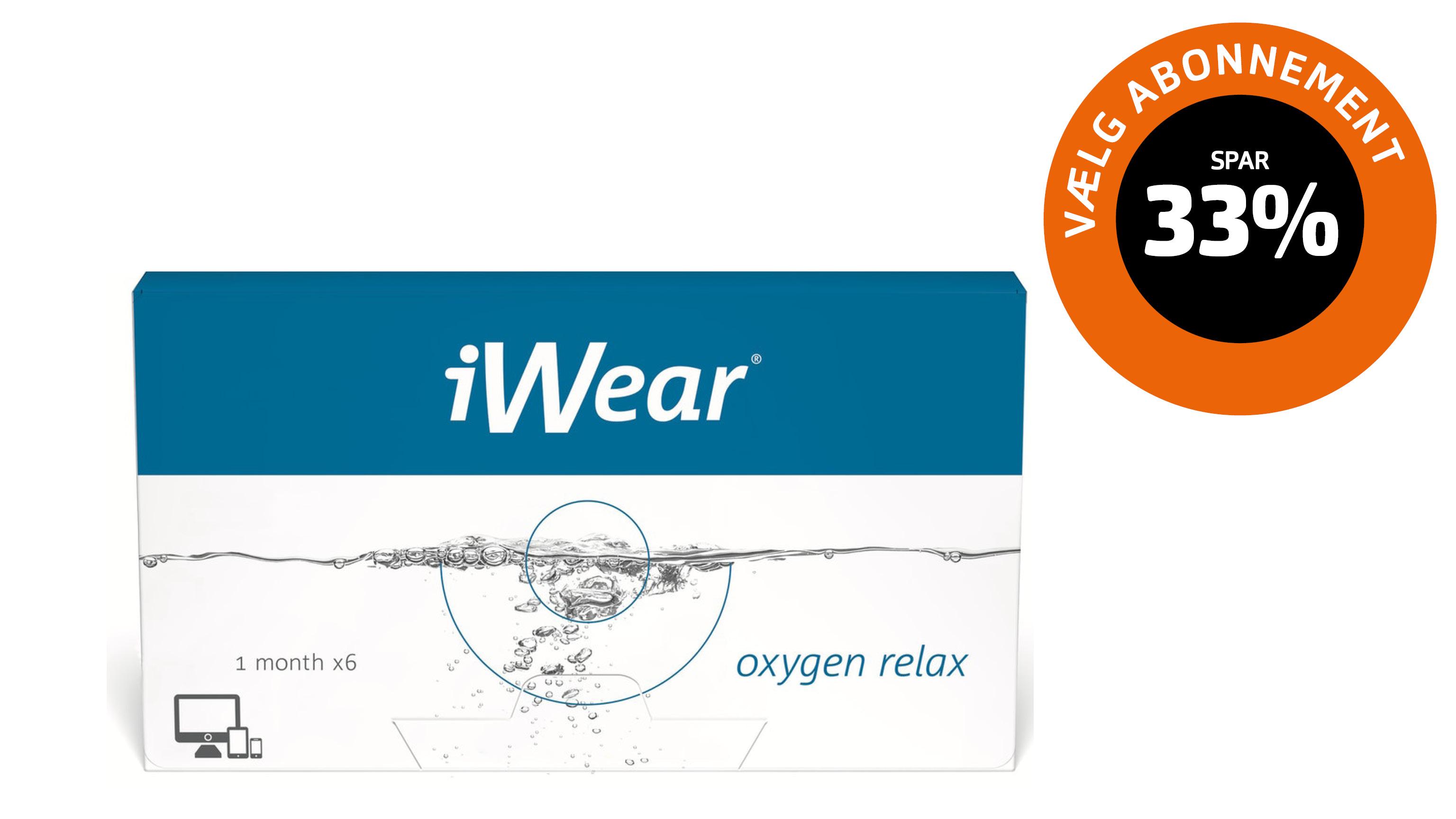 Front iWear Oxygen Relax