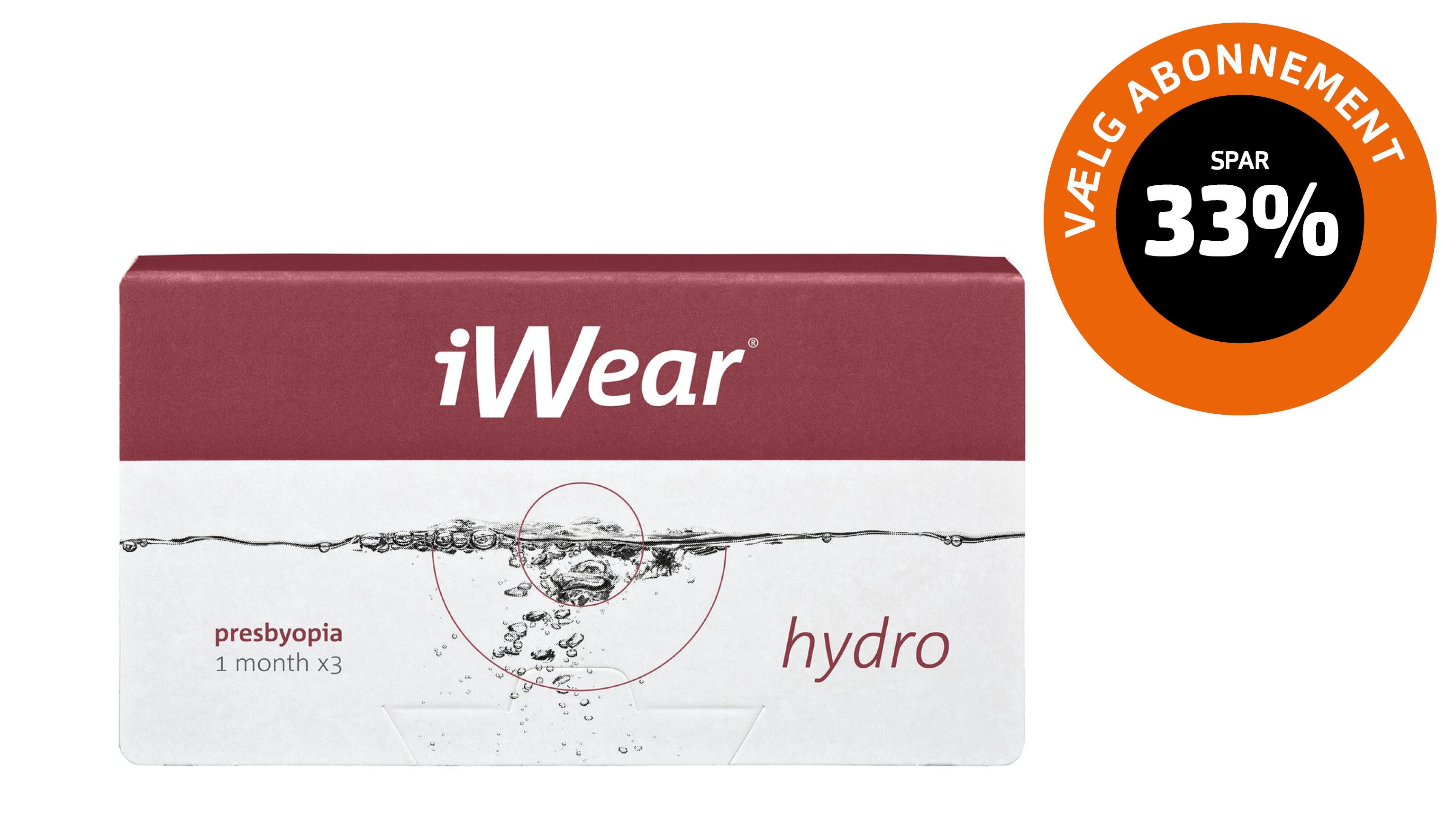Front iWear Hydro Presbyopia Distance