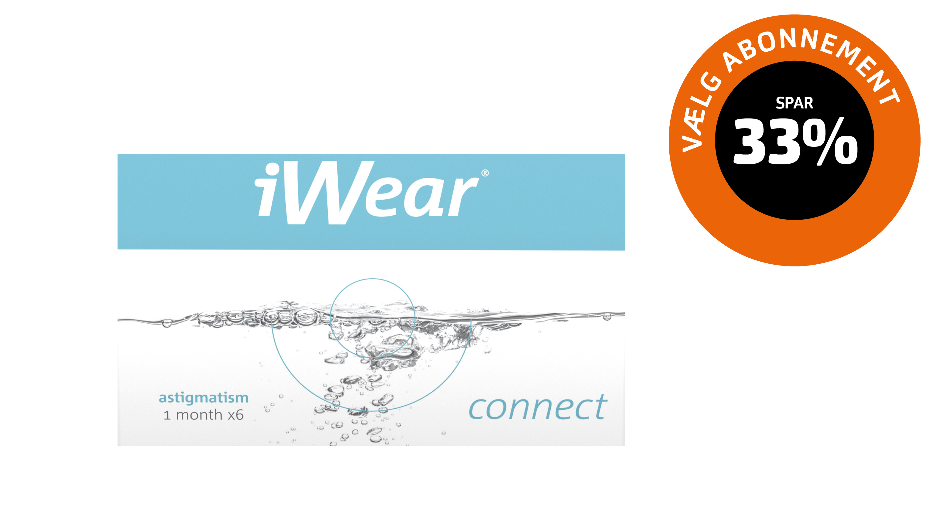 Front iWear Connect Astigmatism