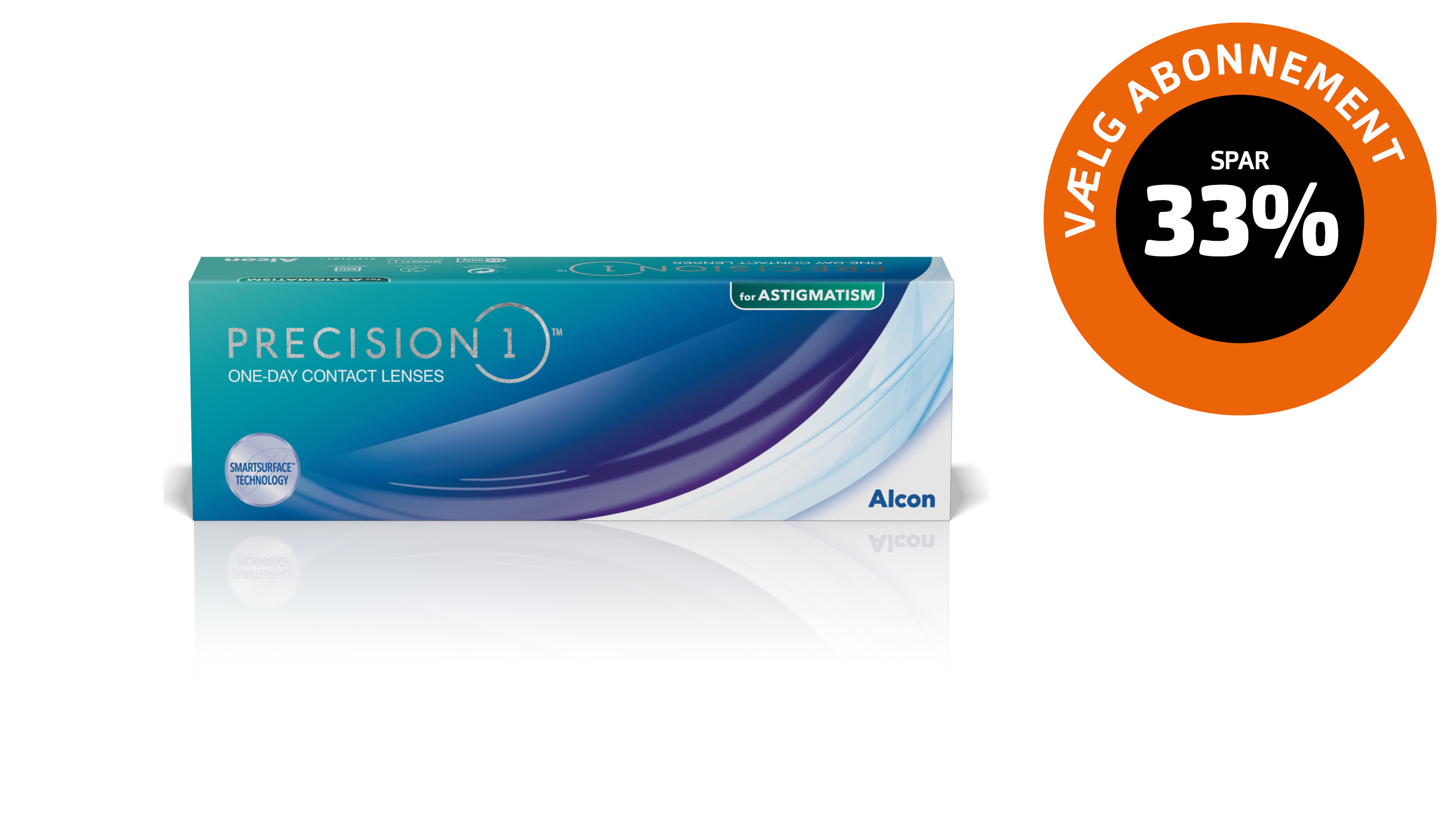Front Precision1 for astigmatism