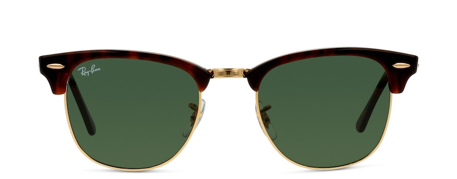 Ray Ban Clubmaster 0RB3016 W0366 Verde/Havana