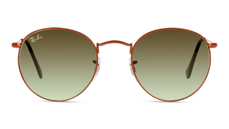 Ray Ban Round 0RB3447 9002A6 Verde/Bronce