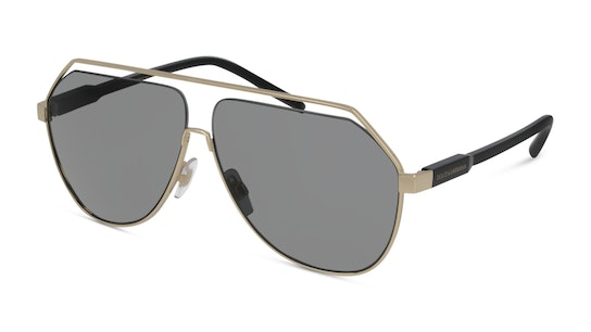Dolce And Gabbana 0DG2266 02/87 Gris / Oro