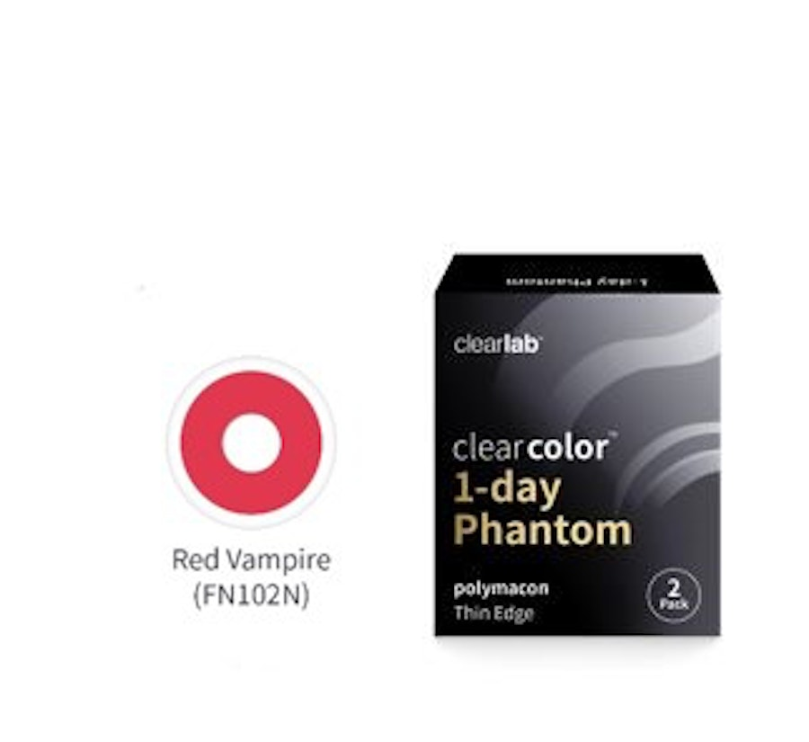 Clear Color 1 Day Roja