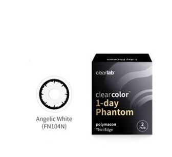 Clear Color 1 Day Angelic White