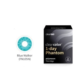 Clear Color 1 Day Blue Walker