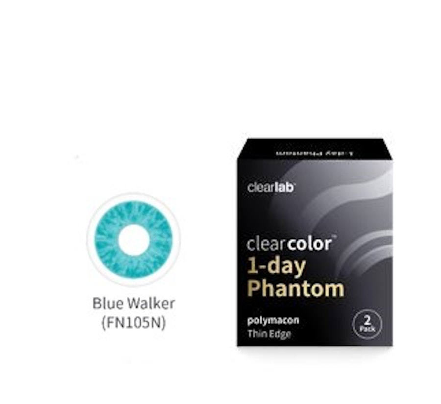 Clear Color 1 Day Azul