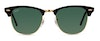 Ray-Ban Clubmaster RB 3016 Men's Sunglasses Green/Black
