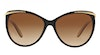 Ralph by Ralph Lauren RA5150 Women's Sunglasses Brown/Black