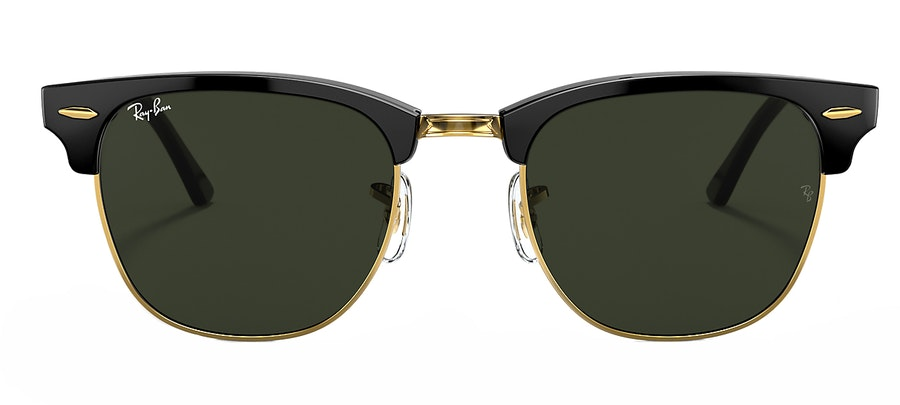 Ray-Ban Club Master RB3016 Unisex Sunglasses Green/Black