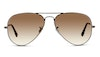 Ray-Ban Aviator RB 3025 Men's Sunglasses Brown/Grey