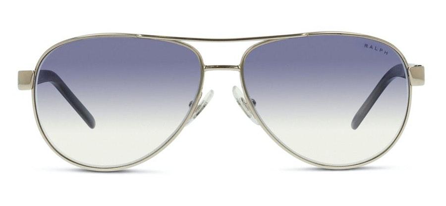 Ralph by Ralph Lauren RA4004 Women's Sunglasses Blue/Silver