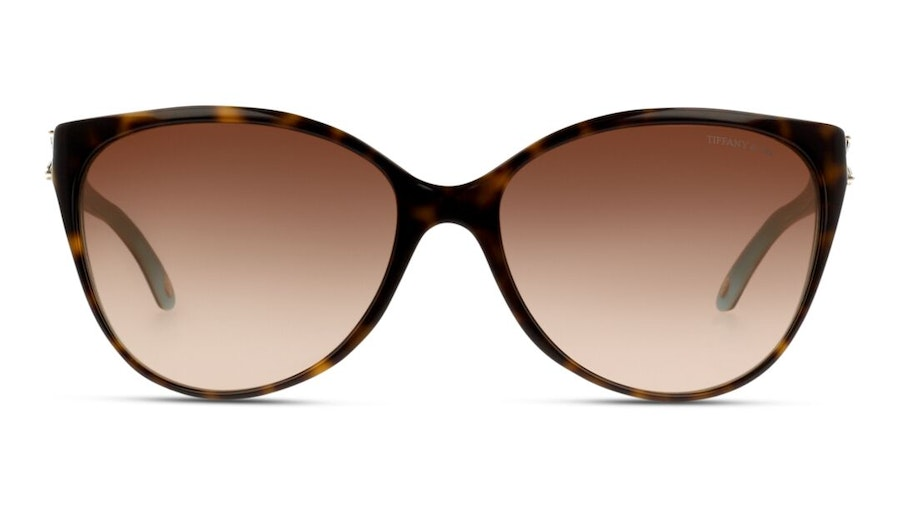 Tiffany & Co TF4089B Women's Sunglasses Brown/Tortoise Shell