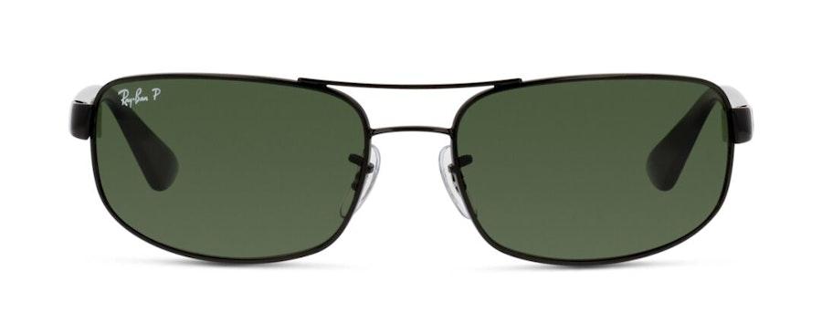 Ray-Ban RB 3445 Men's Sunglasses Green/Black