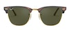 Ray-Ban Clubmaster RB 3016 Men's Sunglasses Green/Tortoise Shell