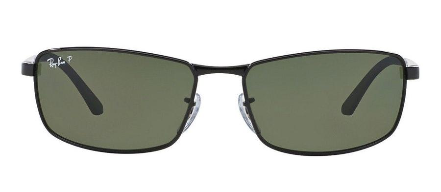 Ray-Ban RB 3498 Men's Sunglasses Green/Black