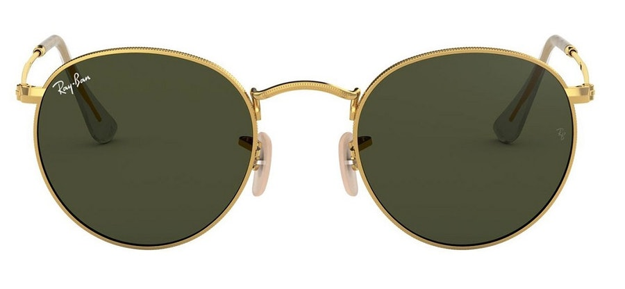 Ray-Ban Round RB3447 Unisex Sunglasses Green/Gold
