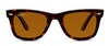 Ray-Ban Wayfarer RB 2140 Unisex Sunglasses Brown/Tortoise Shell