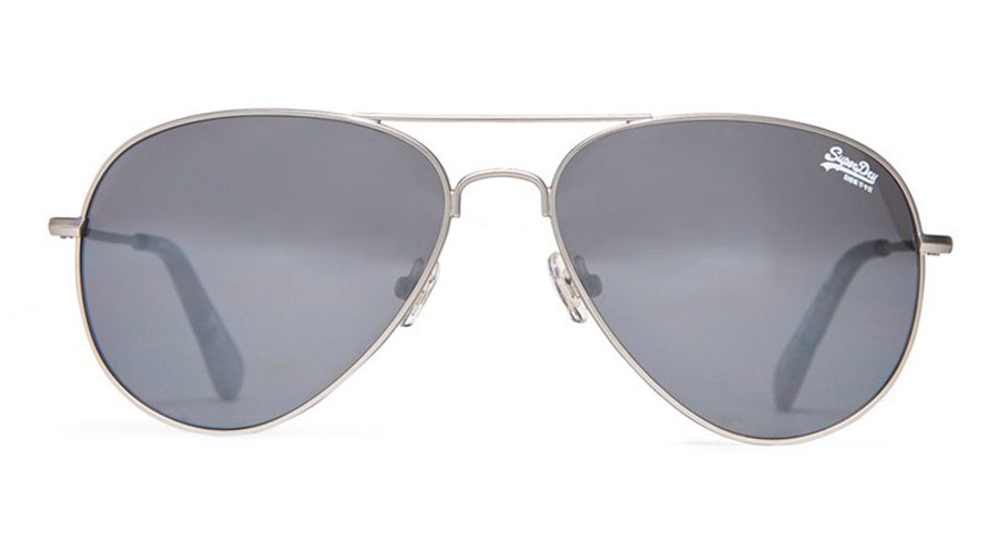 Superdry Huntsman SDS 002 Women's Sunglasses Grey/Silver