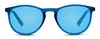 Polaroid Kids PLD 8016/N Children's Sunglasses Blue/Blue