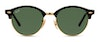 Ray-Ban Clubround RB 4246 Unisex Sunglasses Green/Black