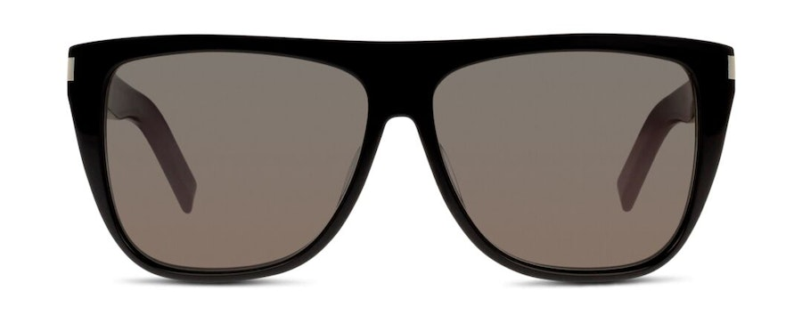 Saint Laurent SL 1 002 Men's Sunglasses Grey/Black