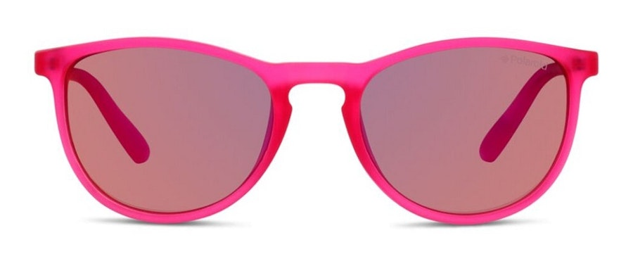 Polaroid Kids PLD 8016/N Children's Sunglasses Pink/Pink