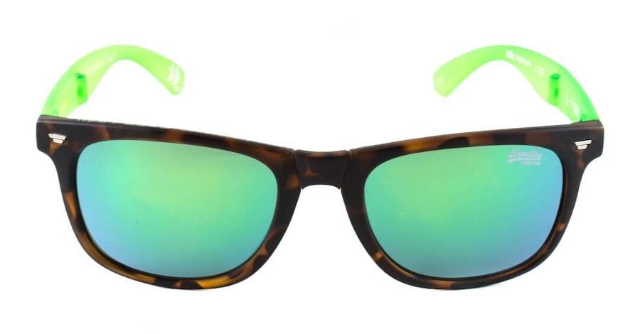 Superdry Supergami Men's Sunglasses Green/Havana