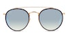 Ray-Ban RB 3647N Unisex Sunglasses Silver/Gold