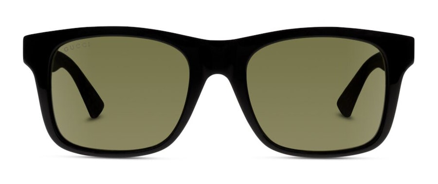 Gucci GG 0008S Unisex Sunglasses Green/Black