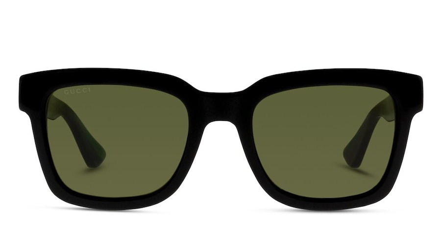 Gucci GG 0001S Unisex Sunglasses Green/Black