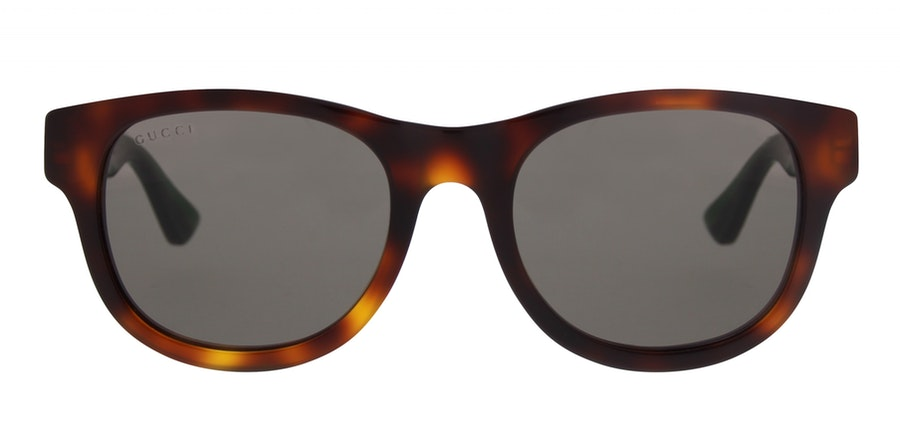 Gucci GG 0003S Women's Sunglasses Grey/Tortoise Shell