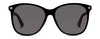 Gucci GG 0024S Women's Sunglasses Grey/Black
