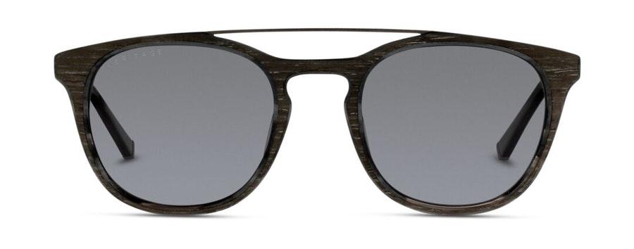 Heritage HS FM08 Unisex Sunglasses Grey/Black