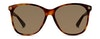 Gucci GG 0024S Women's Sunglasses Brown/Tortoise Shell