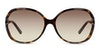 Gucci GG 0076S Women's Sunglasses Brown/Tortoise Shell