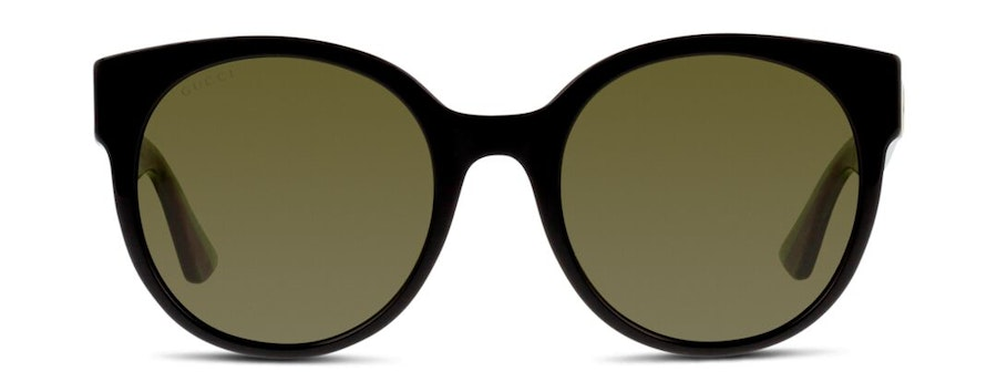 Gucci GG 0035S Women's Sunglasses Green/Black
