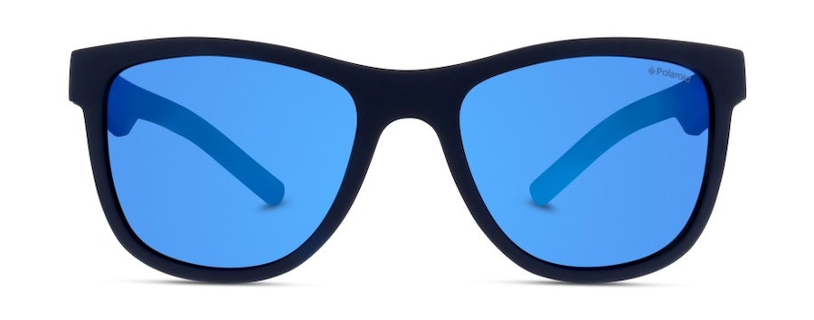 Polaroid Kids PLD 8018/S Children's Sunglasses Blue/Blue