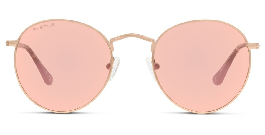 In Style GU37 Women's Sunglasses Pink/Gold